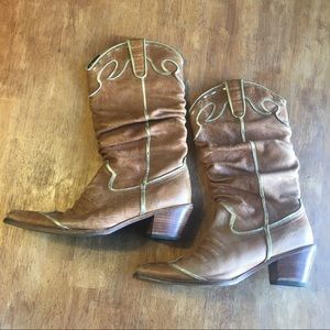 Nordstrom Slouch Cowboy Boots